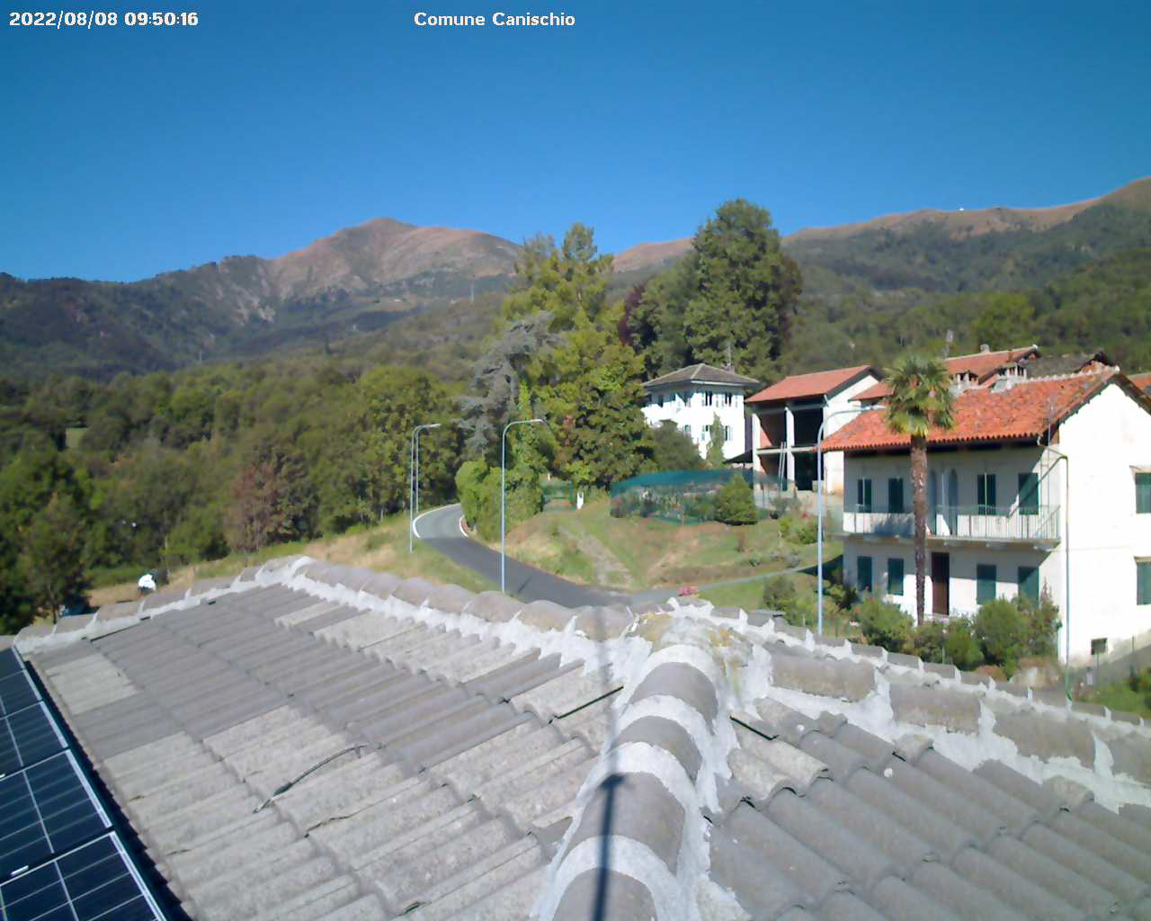 Comune di Canischio - webcam